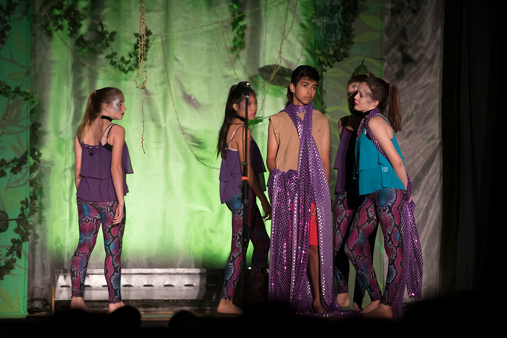 """The Jungle Book"" presented by the Drama Dept. at McPherson Magnet Elementary School in Orange, CA on Wednesday, May 31, 2017. (Photo by Kevin Sullivan, www.sulliphoto.com)"