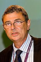 Dave Prentis, Unison General Secretary, speaking at the TUC, Brighton 2007.