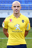 Thomas GUERBERT - 04.10.2014 - Photo officielle Sochaux - Ligue 2 2014/2015<br /> Photo : Icon Sport
