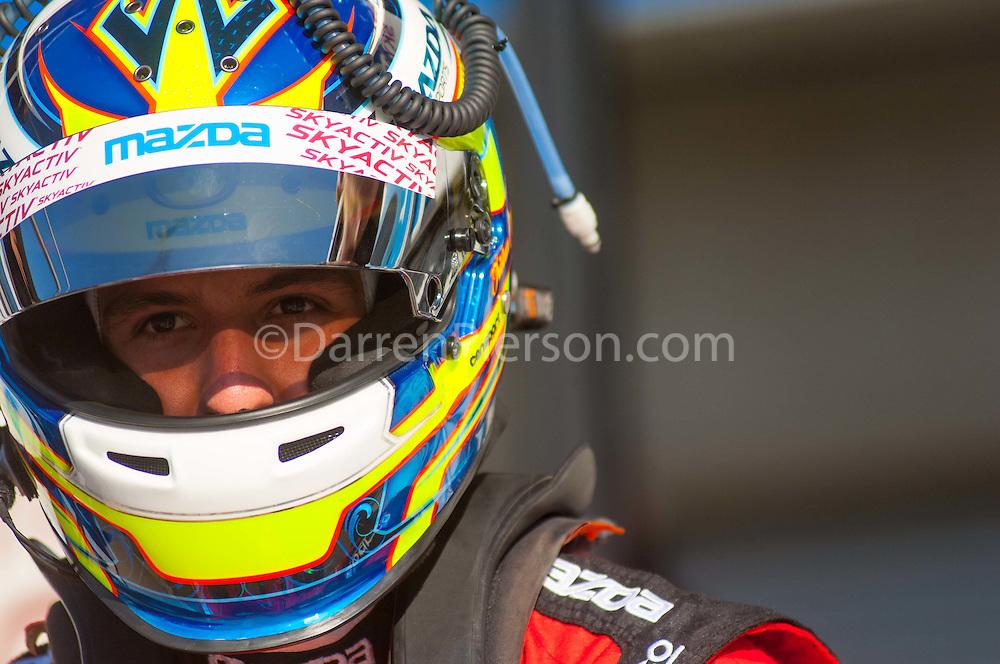 #70 SpeedSource Mazda: Tristan Nunez, Jonathan Bomarito