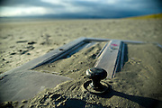 "Discarded door on Dollymount strand, Bull Island, Dublin, two weeks after I first photographed it...Bull Island is a UNESCO protected biosphere reserve in the Northern suburbs of Dublin. It features two golf clubs, and Dollymount beach, used for kitesurfing and other outdoor activities. Wildlife includes seals and bird life. This mage can be licensed via Millennium Images. Contact me for more details, or email mail@milim.com For prints, contact me, or click ""add to cart"" to some standard print options."