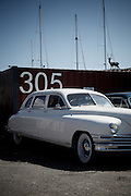 Marin City, April 6 2012 - An old 49 Hudson car.