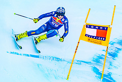 23.01.2020, Streif, Kitzbühel, AUT, FIS Weltcup Ski Alpin, Abfahrt, Herren, 2. Training, im Bild Matteo Marsaglia (ITA) // Matteo Marsaglia of Italy in action during his 2nd training run for the men's Downhill of FIS Ski Alpine World Cup at the Streif in Kitzbühel, Austria on 2020/01/23. EXPA Pictures © 2020, PhotoCredit: EXPA/ Stefan Adelsberger