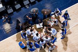 SEC Tournament 2016 University of Kentucky timeout, Friday, March 11, 2016  at Bridgestone Arena in Nashville.