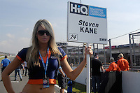 2008 British Touring Car Championship.Brands Hatch, Kent, United Kingdom.  20th-21st September 2008..Motorbase Performance Grid Girl.World Copyright: Peter Taylor/PSP