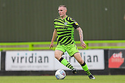 Forest Green Rovers Carl Winchester(7) on the ball during the EFL Sky Bet League 2 match between Forest Green Rovers and Crawley Town at the New Lawn, Forest Green, United Kingdom on 5 October 2019.
