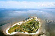 Nederland, Friesland, Waddenzee, 05-08-2014; Griend, onbewoonde zandplaat tussen Harlingen en Terschelling. Niet vrij toegankelijk, vogelreservaat.<br />