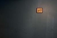 A solitary picture on a wall at Hotel La Pesca in La Pesca, Mexico.