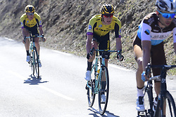 March 16, 2019 - Col De Turini, France - Jumbo Visma Team in action during stage 7 of the 2019 Paris - Nice cycling race with start in Nice and finish in Col de Turini  on March 16, 2019 in Col De Turini, France, (Credit Image: © Panoramic via ZUMA Press)