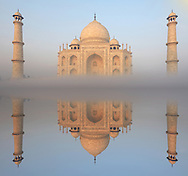 The Taj Mahal, UNESCO World Heritage Site, Agra,Uttar Pradesh, India,Asia