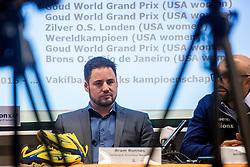 23-02-2017 NED: Nieuwe bondscoach Jamie Morrison. Nieuwegein<br /> Vandaag werd in Huis van de Sport de nieuwe bondscoach Jamie Morrison gepresenteerd. Bram Ronnes