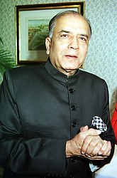 PRINCE MOHSIN ALY KHAN at a party in London<br />  on 19th July 2000.OGH 10