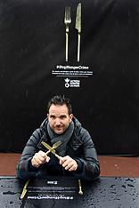 Master Patissier Christophe Michalak and Thomas Ribemont launch Stop Hunger Crime - 12 Nov 2018