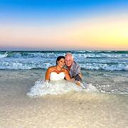 Lee-Rowley Beach Wedding Photos