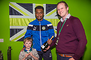 Match sponsor during the EFL Sky Bet League 2 match between Forest Green Rovers and Notts County at the New Lawn, Forest Green, United Kingdom on 10 March 2018. Picture by Shane Healey.