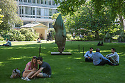 Sculpture in the park,  from an upcoming auction at Christies, St. James's Sq.park  London. 25 May 2017