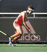 BREDA - Eva de Goede (Ned)  tijdens de finale  Nederland-Japan (8-2) van de 4 Nations Trophy dames 2018 . COPYRIGHT KOEN SUYK