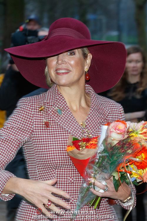 NLD/Arnhem/20180112 - Maxima opent Musis, Koningin Maxima