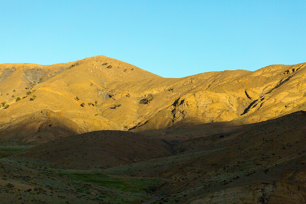 Villages and landscapes in the High Atlas Mountains, Morocco