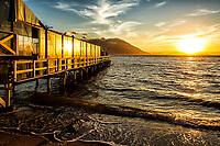 Trapiche do Restaurante Ostradamus, na Praia do Ribeirão da Ilha. Florianópolis, Santa Catarina, Brasil. / Pier of Ostradamus Restaurant, at Ribeirao da Ilha Beach. Florianopolis, Santa Catarina, Brazil.