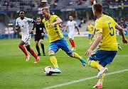 KIELCE, POLEN 2017-06-16<br /> Gustav Engvall under UEFA U21 matchen mellan Sverige och England p&aring; Arena Kielce den 16 juni, 2017.<br /> Foto: Nils Petter Nilsson/Ombrello<br /> Fri anv&auml;ndning f&ouml;r kunder som k&ouml;pt U21-paketet.<br /> Annars Betalbild.<br /> ***BETALBILD***