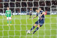 But Zlatan Ibrahimovic - 08.04.2015 - Paris Saint Germain / Saint Etienne - 1/2Finale Coupe de France<br /> Photo : Andre Ferreira / Icon Sport