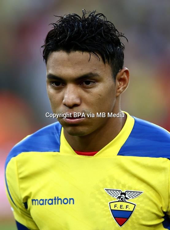 Conmebol_Concacaf - Copa America Centenario 2016 - <br /> Ecuador National Team - <br /> Jefferson Montero