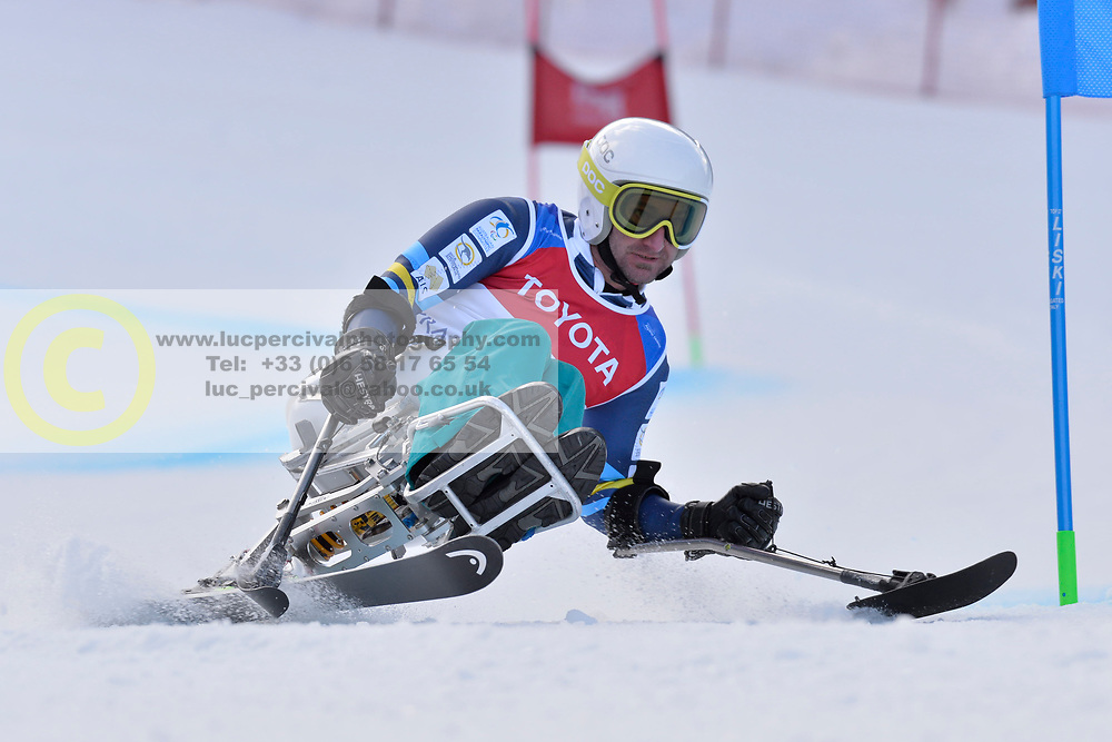 SOYER Mark LW11 AUS at 2018 World Para Alpine Skiing Cup, Kranjska Gora, Slovenia