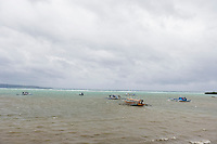Tourboats in Boracay; Philippines