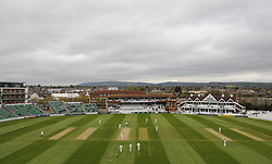 General view of play at the County Ground.  - Mandatory by-line: Alex Davidson/JMP - 01/05/2016 - CRICKET - Cooper Associates County Ground - Taunton, United Kingdom - Somerset v Lancashire - English Specsavers County Championship Division One