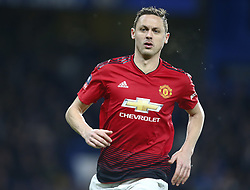 February 18, 2019 - London, United Kingdom - Manchester United's Nemanjo Matic.during FA Cup Fifth Round between Chelsea and Manchester United at Stanford Bridge stadium , London, England on 18 Feb 2019. (Credit Image: © Action Foto Sport/NurPhoto via ZUMA Press)