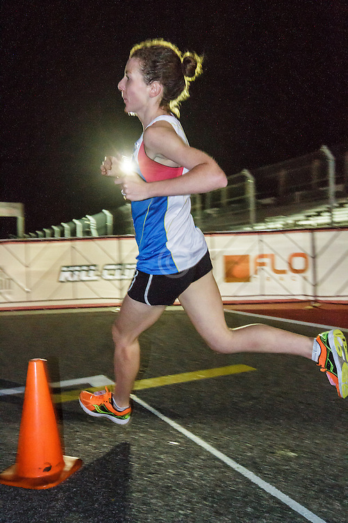 Beer Mile World Championships, Inaugural, women's elite race, winner Elizabeth Herndon