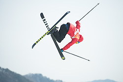 February 18, 2018 - Pyeongchang, South Korea - OYSTEIN BRAATEN of Norway on his way to winning gold in the Mens Ski Slopestyle competition Sunday, February 18, 2018 at Phoenix Snow Park at the Pyeongchang Winter Olympic Games.  Photo by Mark Reis, ZUMA Press/The Gazette (Credit Image: © Mark Reis via ZUMA Wire)