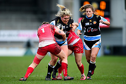 Hannah Duffy of Exeter Chiefs- Mandatory by-line: Ryan Hiscott/JMP - 07/03/2020 - SPORT- Sandy Park - Exeter, United Kingdom - Exeter Chiefs Women v Army Women