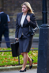 © Licensed to London News Pictures. 04/11/2014. LONDON, UK. International Development Secretary Justine Greening attending to a cabinet meeting in Downing Street on Tuesday 4 November 2014. Photo credit: Tolga Akmen/LNP