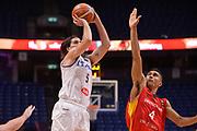 Ariel Filloy<br /> Nazionale Italiana Maschile Senior<br /> Eurobasket 2017 - Group Phase<br /> Italy Italia Germany Germania<br /> FIP 2017<br /> Tel Aviv, 05/09/2017<br /> Foto Ciamillo - Castoria/ Ivan Mancini