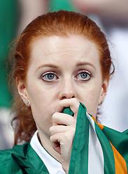10-06-2012 VOETBAL: UEFA EURO 2012 DAY 3: POLEN OEKRAINE<br /> Match between Croatia and Ireland, group C. Poznan, Poland - Euro 2012 Championship / Support Ireland<br /> ***NETHERLANDS ONLY***<br /> ©2012-FotoHoogendoorn.nl