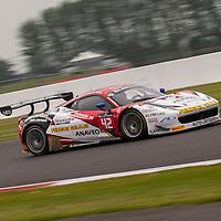 #42 Sport Garage Ferrari 458 Italia driven by Christophe Hamon, Tony Samon and Luc Paillard, Blancpain Endurance Series, 23 May 2015