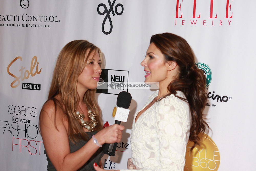 Belle Parish by Ali Landry presented by BeautiControl during Style360 Fashion Week in New York on September 12, 2010