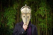 Le sculpteur Andre Raboud domicilie a Saint-Triphon (VD), pose le 9 novembre 2017 a Tarascon, avant de recevoir, le 15 novembre 2017, le prix de la la sculpture de L'Academie des beaux-arts a Paris, par la Fondations Pierre Gianadda. L'Academie des beaux-arts, l&rsquo;une des cinq academies composant l&rsquo;Institut de France, encourage la creation <br /> artistique dans toutes ses expressions et veille a la defense et &agrave; l&rsquo;illustration du patrimoine artistique de la France.(Olivier Maire)