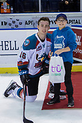 KELOWNA, CANADA - FEBRUARY 07:  Second Star of the Game Kole Lind #16 of the Kelowna Rockets at the Kelowna Rockets game on February 07, 2018 at Prospera Place in Kelowna, British Columbia, Canada.  (Photo By Cindy Rogers/Nyasa Photography,  *** Local Caption ***