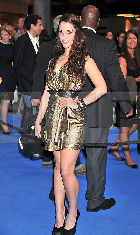 """© licensed to London News Pictures. London, UK  12/05/11 Jessica Lowndes .attends the UK premiere of Pirates of the Carribean 4 """"on Stranger Tides"""" at Londons Westfield . Please see special instructions for usage rates. Photo credit should read AlanRoxborough/LNP"""