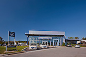 R & H Mercedes Car Dealership Photography in Owings Mills, MD