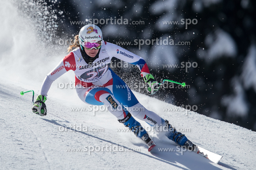06.03.2015, Kandahar, Garmisch Partenkirchen, GER, FIS Weltcup Ski Alpin, Abfahrt, Damen, 1. Trainingslauf, im Bild Nadja Jnglin-Kamer (SUI) // Nadja Jnglin-Kamer of Switzerland during 1st training run for the ladie's Downhill of the FIS Ski Alpine World Cup at the Kandahar course, Garmisch Partenkirchen, Germany on 2015/03/06. EXPA Pictures © 2015, PhotoCredit: EXPA/ Johann Groder