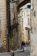 FRANCE, Saint Emilion<br /> La Maison de la Cadene (the House of the Chain) et la Porte de la Cadene (the Door of the Chain), both dating back to the XVI century
