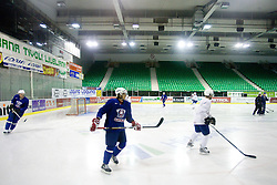 David Rodman at first practice of Slovenian National Ice hockey team before World championship of Division I - group B in Ljubljana, on April 5, 2010, in Hala Tivoli, Ljubljana, Slovenia.  (Photo by Vid Ponikvar / Sportida)