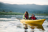 Kayaking along the Little Nestucca River, OR Model released.
