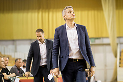 Zoran Martic, head coach of KK Petrol Olimpija Ljubljana during basketball match between KK Petrol Olimpija and KK Sentjur in Playoffs of Liga Nova KBM 2017/18, on April 18, 2018 in Tivoli sports hall, Ljubljana, Slovenia. Photo by Urban Urbanc / Sportida