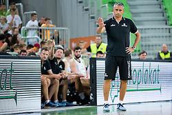 Igor Kokoskov, head coach of Slovenia during friendly basketball match between National teams of Slovenia and G. Britain, on August 20, 2016 in Arena Stozice, Ljubljana, Slovenia. Photo by Urban Urbanc / Sportida