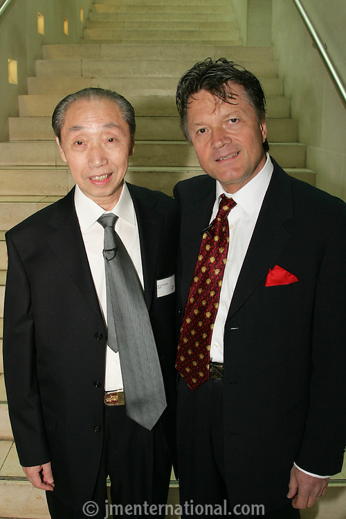 Fran Nevrkla (PPL Chairman and CEO), Mr Liu Guo Xiong, President of China Audio Video Association (CAVA)